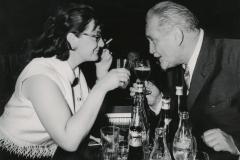 Elisabeth Schnell mit Gustav Knuth