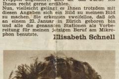 Zeitungsausschnitt (1951)