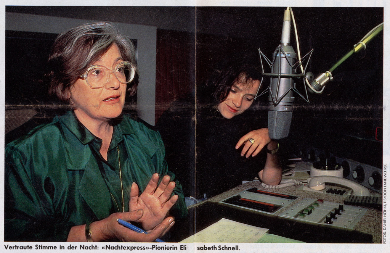 Elisabeth Schnell - 20 Jahre Nachtexpress